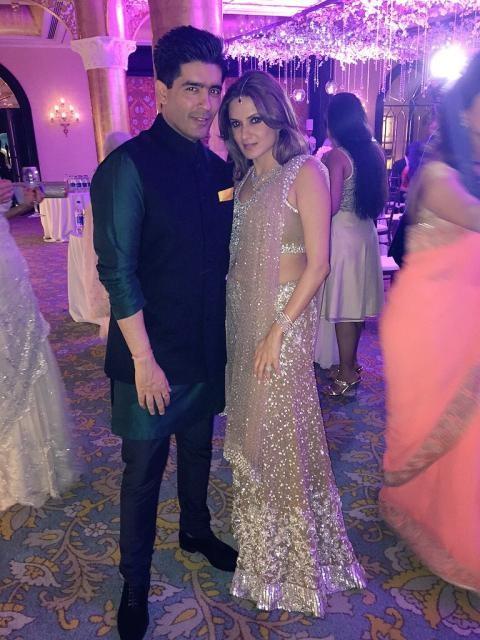 Manish Malhotra and Anu Mahtani