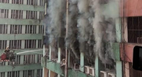 Delhi CGO complex fire