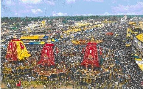Jagannath Rath Yatra 2012 Begins in Puri