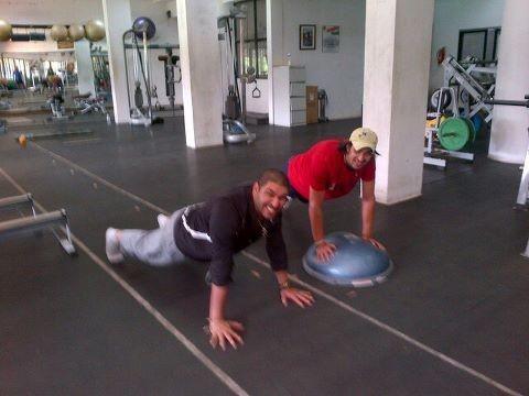 Yuvraj Singh With Ishant Sharma