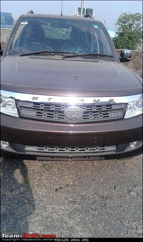 Tata Safari Storme Facelift Interiors Completely Revealed