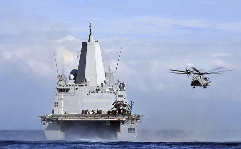 US Navy Plans to Launch Small Military Drones from Ships (Representational Image) [Reuters]