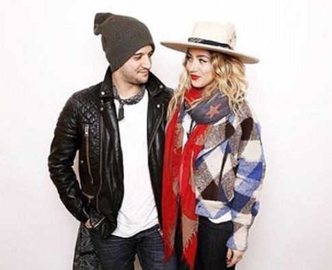 Mark Ballas and fiance BC Jean