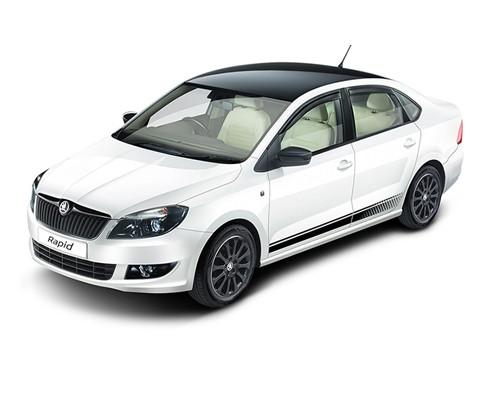Skoda Rapid facelift enters production