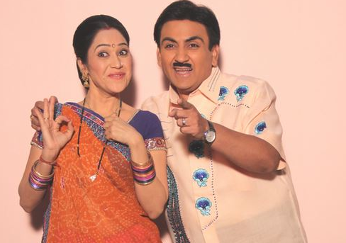 Disha Vakani and Dilip Joshi