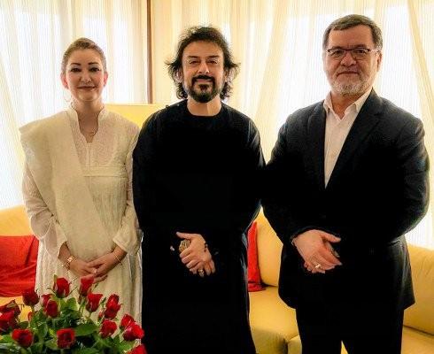 Adnan Sami,singer Adnan Sami,Afghan Vice President Sarwar Danish,Sarwar Danish