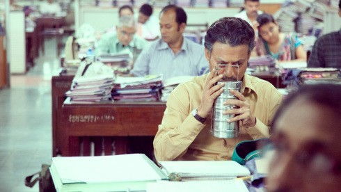 A still from 'The Luncbox' with Irrfan Khan