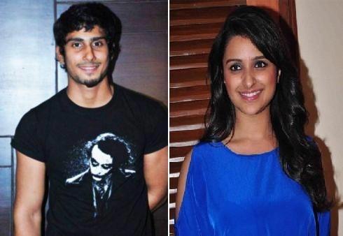 Actor Pratiek Babbar (L) and actress Parineeti Chopra (R). Image: Facebook