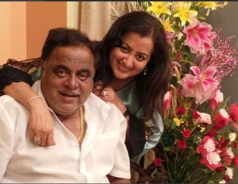Ambareesh with wife Sumalatha