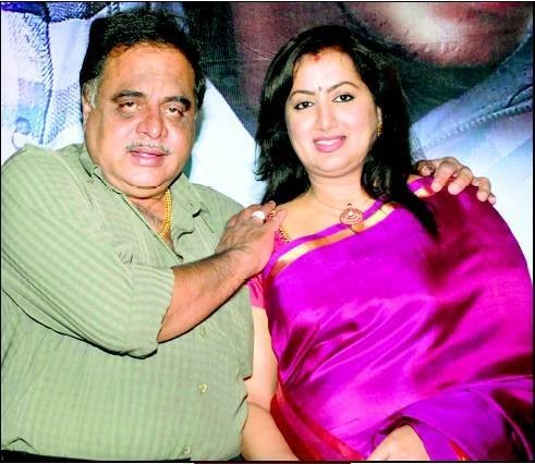 Amareesh With His Wife Sumalatha