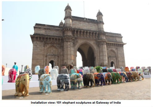 Jumbo Welcome,Jumbo Welcome in Mumbai,Gateway of India
