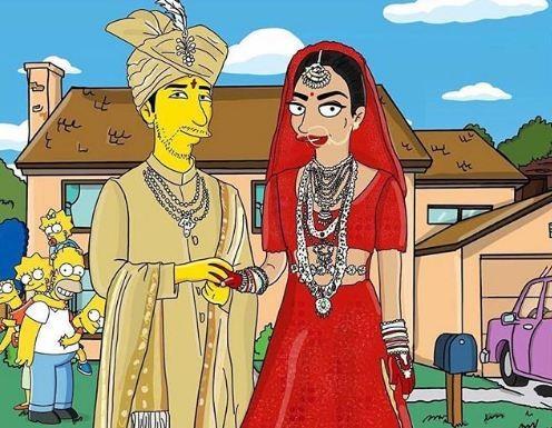Priyanka Chopra,Priyanka Chopra Simpsons,Priyanka Chopra Nick Jonas,Priyanka chopra wedding,Priyanka Chopra nick jonas wedding,nick jonas,Nick Jonas wedding,Nick Jonas wife,Simpsons
