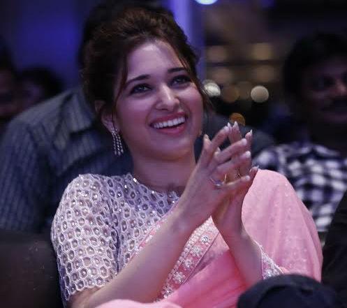 Tamanna Bhatia at 'Baahubali' Trailer Launch