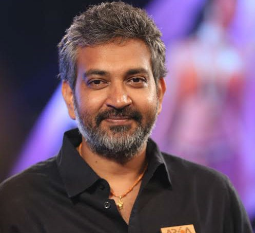 SS Rajamouli at 'Baahubali' trailer release event.