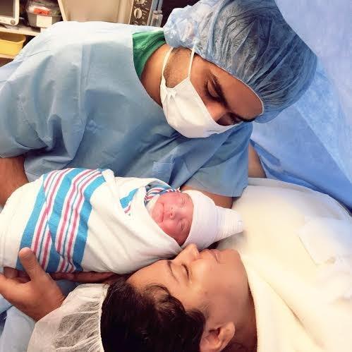 Veena Malik,Veena Malik blessed with baby girl,Veena Malik's baby girl,actress Veena Malik