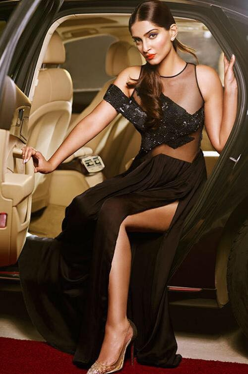 Sonam Kapoor for L'Oreal Cannes Collection 2015