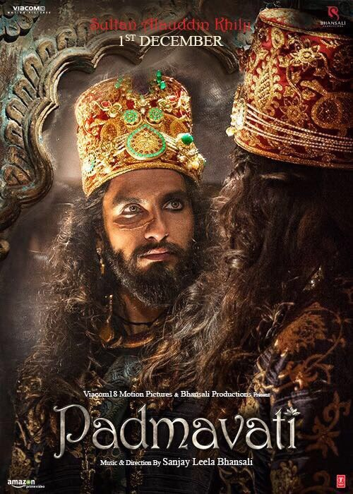 Padmavati,Padmavati first look,Padmavati movie,Ranveer Singh as Sultan Alauddin Khilji,Ranveer Singh,Ranveer Singh as Alauddin Khilji,Alauddin Khilji,Ranveer Singh as Khilji