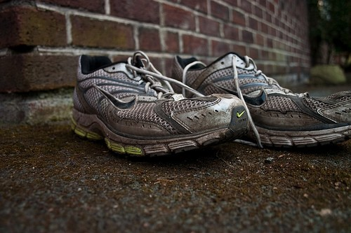Exercise, Sports shoes