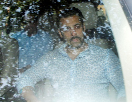 Salman Khan appears for the hearing of his 2002 hit and run case in Mumbai