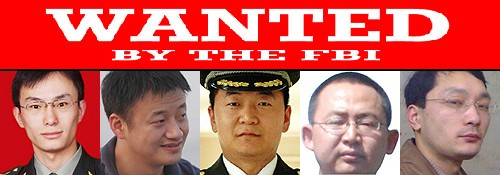 China has strongly condemned the United States' indictment of five Chinese military officials for allegedly stealing trade secrets.