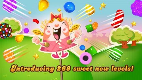 Candy Crush Saga latest update