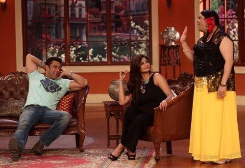 Salman Khan,Daisy Shah on'comedy Night With Kapil'