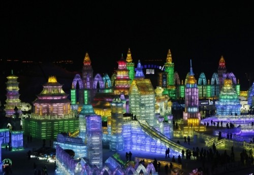 Harbin Ice and Snow Sculpture Festival (Reuters)