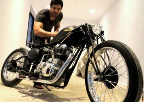 John Abraham bikes