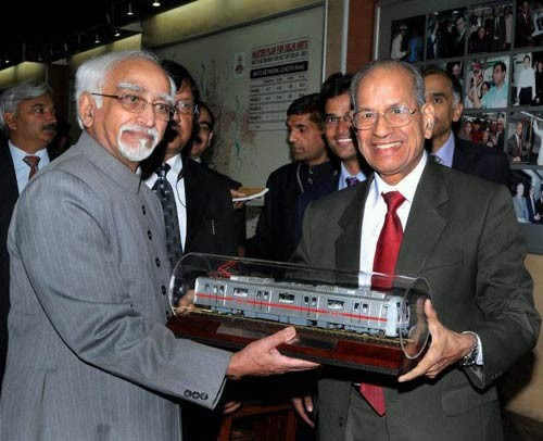 Next President of India, Metro Man' E Sreedharan, Sreedharan