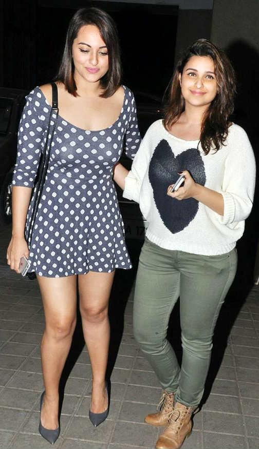 Parineeti Chopra at Manish Malhotra's birthday party