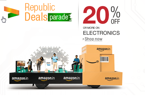 Happy Republic Day: Find The Best Deals Just For Today; Best Value On Electronics