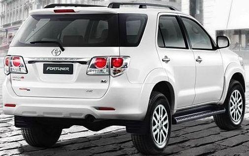Toyota Fortuner SUV