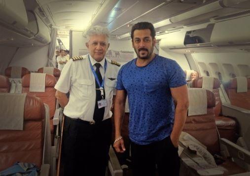 Salman Khan private jet