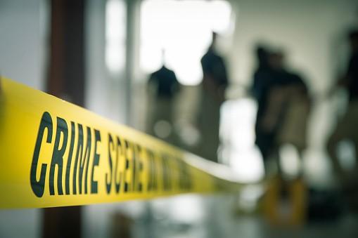 Murder crime scene