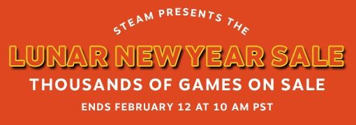 Steam hosts first-ever Lunar New Year sale with massive discounts on over 8,000 game titles