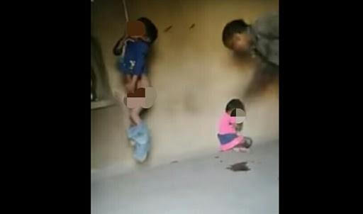 Girl Pooping On Floor