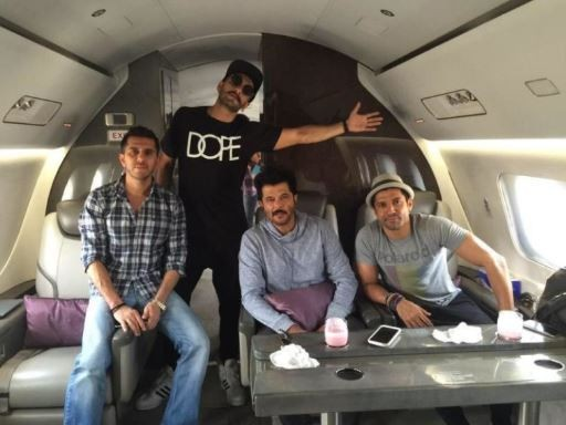 Anil Kapoor's private jet