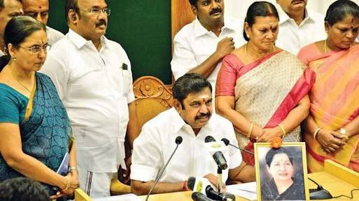 Edappadi K Palanisamy,Palanisamy,Edappadi Palanisamy,Edappadi Palaniswami takes charge,Edappadi Palaniswami as CM