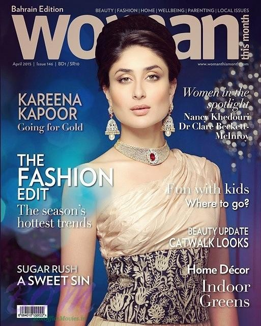 Kareena Kapoor Khan featured in the cover page of Woman