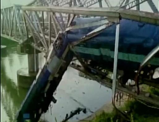 Train derails in Assam