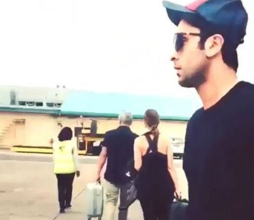 Ranbir Kapoor and Katrina Kaif's Holiday Trip to Maldives,Beach Holiday for Katrina Kaif,Ranbir Kapoor in Maldives,Ranbir Kapoor and Katrina Kaif,Ranbir Kapoor and Katrina Kaif in Maldives,Ranbir Kapoor,Katrina Kaif,Holiday Trip to Maldives,Bollywood lov