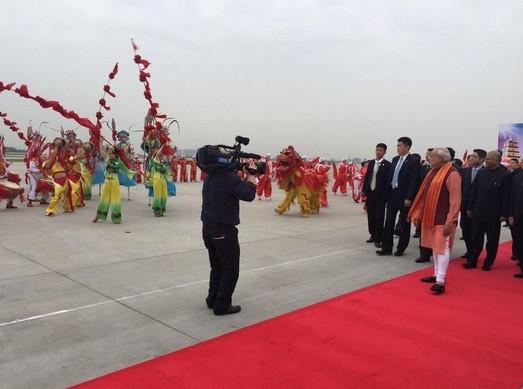 Modi in China