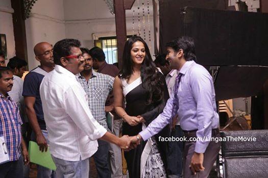 KS Ravikumar, Anushka & Santhanam