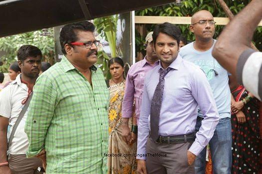 KS Ravikumar with Santhanam