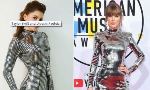 Urvashi Rautela trolled for copying Taylor Swift