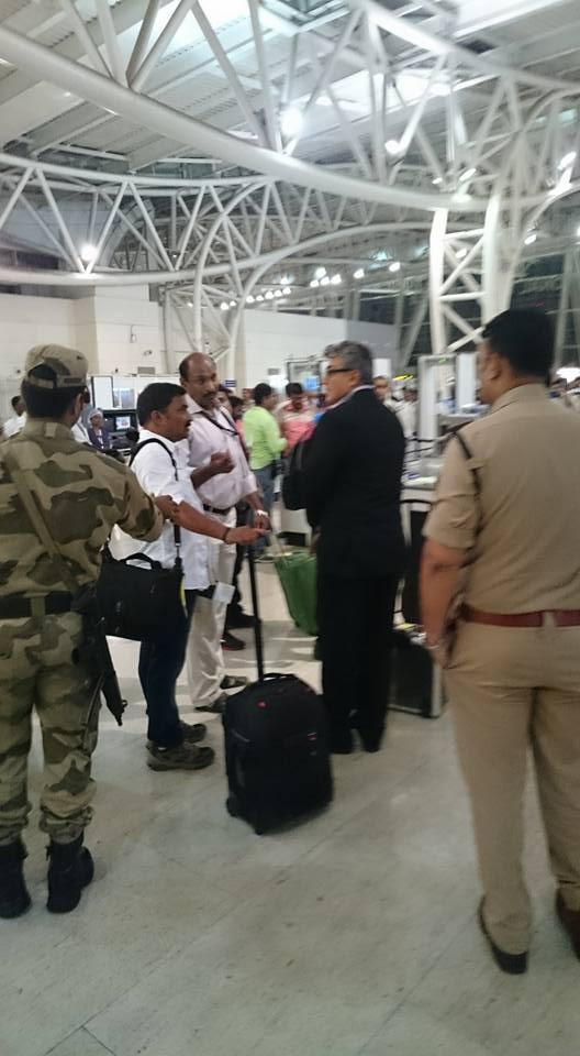Thala Ajith Spotted At Chennai Airport Photos Images