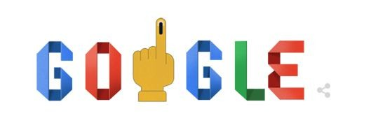 google doodle election