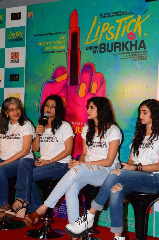 Lipstick Under My Burkha,Lipstick Under My Burkha trailer,Lipstick Under My Burkha trailer launch,Lipstick Under My Burkha trailer launch pics,Lipstick Under My Burkha trailer launch images,Lipstick Under My Burkha trailer launch stills,Lipstick Under My