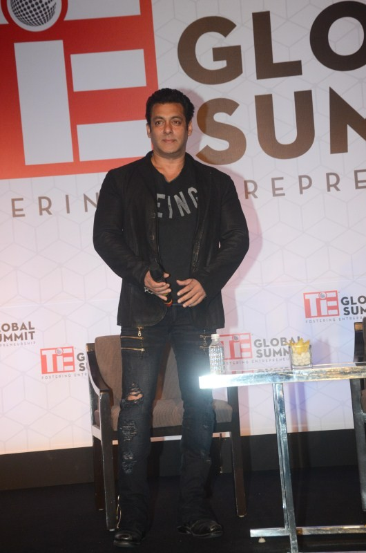 Salman Khan,actor Salman Khan,Salman Khan poster,Salman Khan wallpaper,TiE Global Summit,TiE Global Summit 2018,Salman Khan at TiE Global Summit