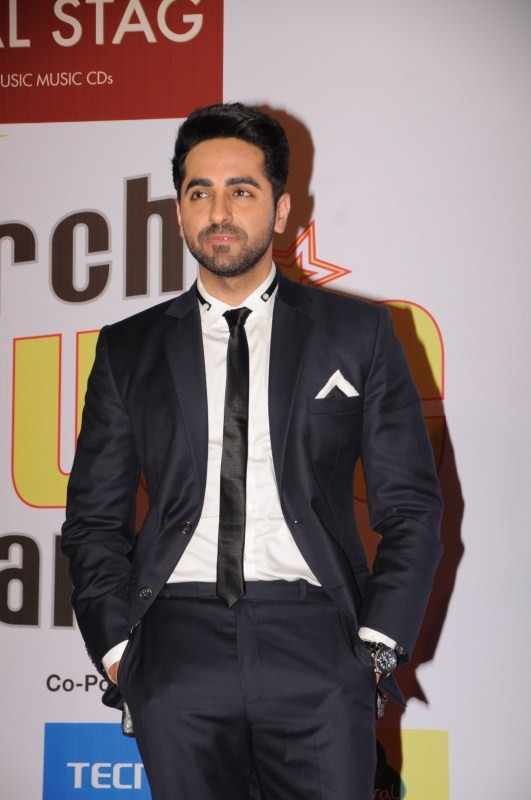 Manushi Chhillar,Urvashi Rautela,Ayushmann Khurrana,Sonu Sood,Nushrat Bharucha,10th Mirchi Music Awards 2018,10th Mirchi Music Awards,celebs at 10th Mirchi Music Awards 2018
